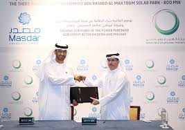 Dewa Signs Power Purchase Agreement With Masdar For Third Phase Of ...