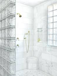 glass brick wall glass block shower partition glass brick wall tile super shiny grey glass brick wall