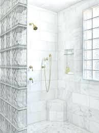 glass brick wall glass block shower partition glass brick wall tile super shiny grey glass brick wall