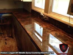 metallic countertop resurfacing kits has the easiest way to transform your three step countertop metallic