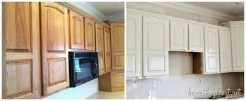 Unique Painting Oak Kitchen Cabinets White To Inspiration Decorating