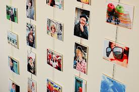 Creative Ways To Display Photos Without Frames