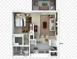2D Interior Design Simple Decoration