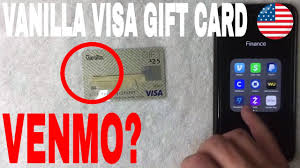 This is possible since, in most cases, visa gift cards are acceptable in stores that accept normal visa cards. Can You Use Vanilla Visa Gift Card On Venmo Youtube