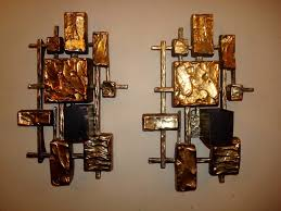 decorative gold wall sconces fresh delectable unique gold square candle sconces for home