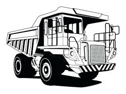 Dump Truck Coloring Pages Mining Free To Print A Printable