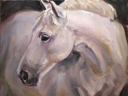 700x525 stephen filarsky white horse head painting