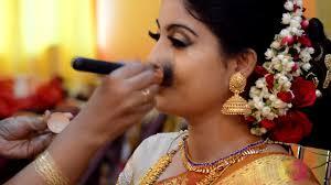 south indian bride makeup