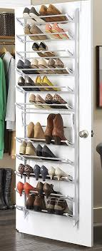 ... Over The Door Shoe Rack | DIY Shoe Storage Ideas | Easy Organization  Ideas