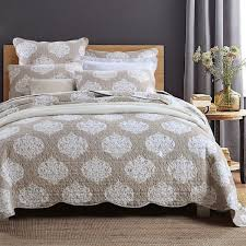 CHAUSUB American Style Thicker Quilt Set 3PCS Summer Cotton Quilts ... & CHAUSUB American Style Thicker Quilt Set 3PCS Summer Cotton Quilts Plain  Quilted Bedspread Bed Cover Sheets Shams Coverlet Set-in Quilts from Home &  Garden ... Adamdwight.com
