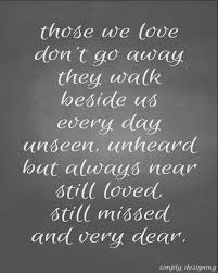 Quotes About Death Of A Loved One Remembered Extraordinary Lost Loved Ones Quotes QUOTES OF THE DAY