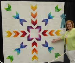 And the Winner of the Best Modern Quilt Award Goes to... & Kimberly Einmo with her award-winning Fire & Ice quilt! Adamdwight.com