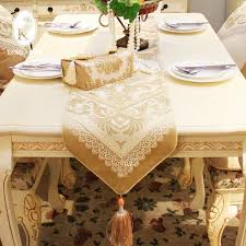 unique luxury fashion dining table flag cloth coffee at