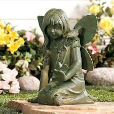 garden fairies statues. Garden Fairy Statues Rose Large Uk . Fairies