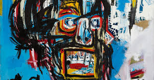 a basquiat s for mind blowing 110 5 million at auction the new york times