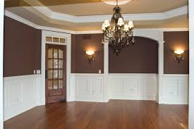 Wall Painting Two Colors One Of The Best Home Design - Dining room two tone paint ideas