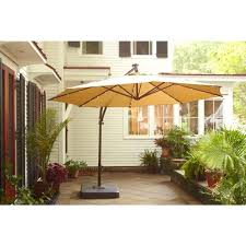 ideas patio umbrella 11 ft and lovely bay patio umbrella bay ft offset led patio umbrella