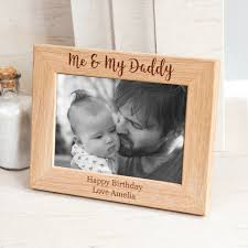 personalised me and my daddy photo frame