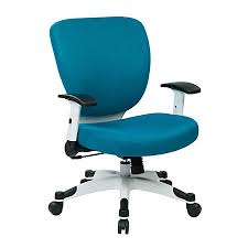 office star space seating professional deluxe mesh mid back task chair blue blue task chair office task chairs