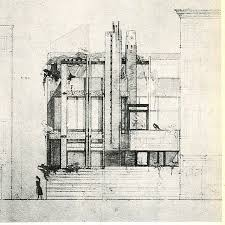 Simple Architecture Design Sketches Carlo Scarpa Drawing Intended Decor