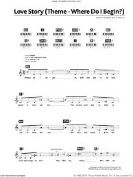 Lyrics Center: Love Story Lyrics Andy Williams Chords