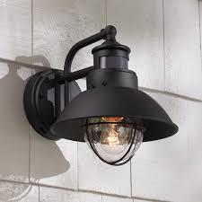 outdoor lighting outdoor motion sensor led light fixtures sensor wall light motion activated led light