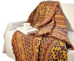 doldoa cotton woven throw blanket