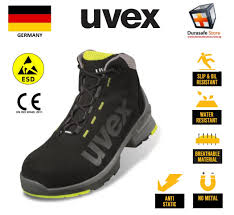 Uvex Safety Shoes Size Chart Uvex 8545 Uvex 1 Lightweight Lace Up Safety Boot Black Yellow Size 39 46 Durasafe Shop