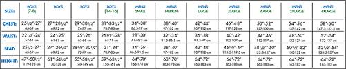 body measurement chart for men 28 correct pant length for men chart