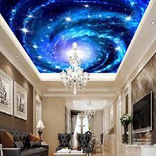 Kopen Universe Space Plafond Muurschilderingen Behang 3d Fotowand