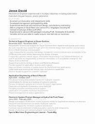 Design Engineer Resume Sample Pdf Luxury Mechanical Engineer Resume