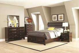 King Bed Bedroom Set Coaster 203481ke S4 Jaxson Cappuccino 4 Pcs Eastern King Bedroom Set