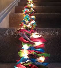 unique christmas lighting. use fabric scraps in your choice of colors to add a unique pop holiday decor see more images at whitney caroline designs christmas lighting l