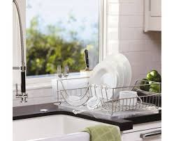 Kitchen Drying Rack For Sink Kitchen Sinks Compact Dish Drying Rack Combined Kitchen Details