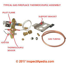 parts gas fireplace thermocouple bookcase winsome gas fireplace thermocouple replacement household plan 4 an example is ilrated above on this