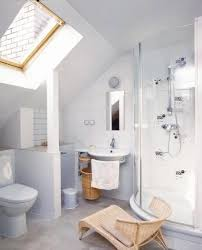 attic bathroom ideas remodel remodeled bathroom with slanted roof sloped ceiling attic bathroom ide