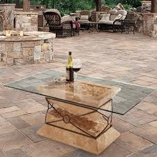 glass patio table tops dulles glass