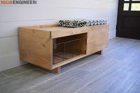 storage bench plans. Perfect Bench Storage Bench Throughout Plans E
