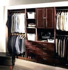 marvelous allen roth solid wood closet organizer medium size of