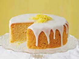 French Lemon Cake With Lemon Glaze Cookstrcom