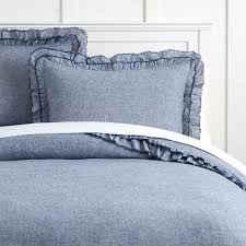 chambray duvet cover full embroidered cotton la chambray king size duvet cover linen french set contemporary home