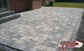 paver patio patterns. Plain Paver Patio Landscape Design Chesterfield MI 48051 Throughout Paver Patterns D