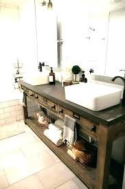 pottery barn bathroom vanity kids medium size of cabinets double sink mirror mirrors for van bath