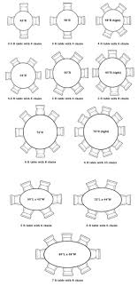 round table size for 6 home design with intended 8 seater round