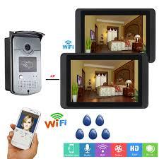 <b>Yobang Security Video Intercom</b> 7 Inch LCD Wifi Wireless Video ...