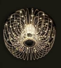 transpa glass chandelier by philips