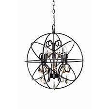 maxim lighting 25142 orbit 4 light chandelier
