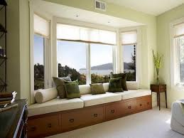 bay window furniture. Decoration: Nice Bay Window Furniture With Storage Bench And Comfy Cushions Plus Bolsters: Exclusive N