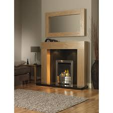 windsor clear oak fire surround by gb mantels