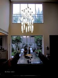 lighting for high ceiling. white candles modern dining lights by galilee lighting moderndiningroom for high ceiling b